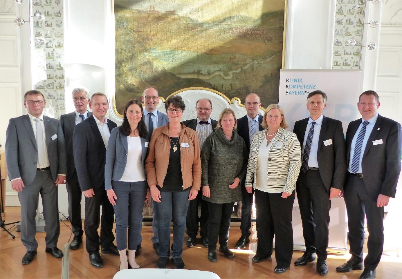 Dialog über die Zukunft der Klinikstrukturen in Bayern