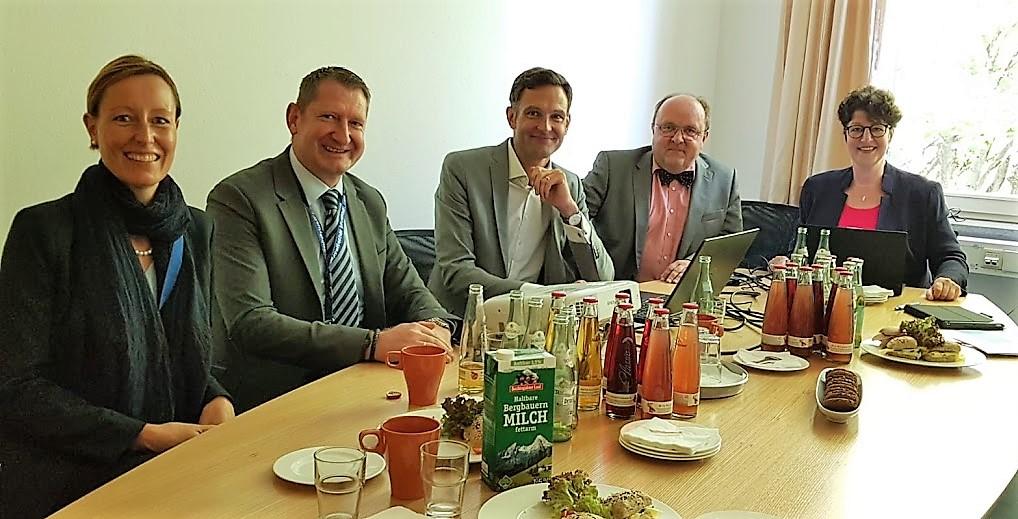 KKB-Vorstand zum Gespräch bei den Freien Wählern im Landtag