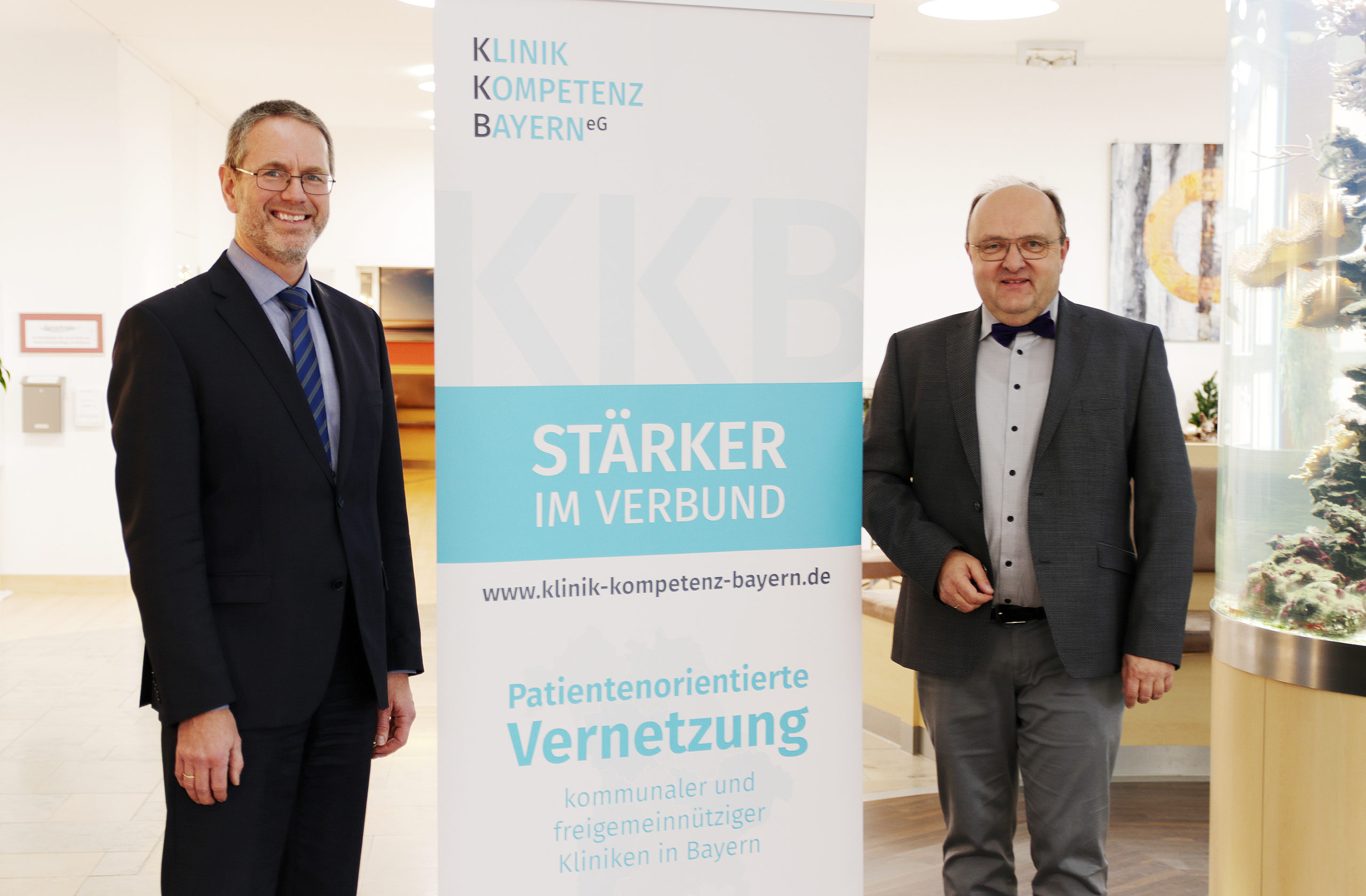 Staffelstab-Übergabe: Martin Stapper neues Vorstandsmitglied der Klinik-Kompetenz-Bayern eG